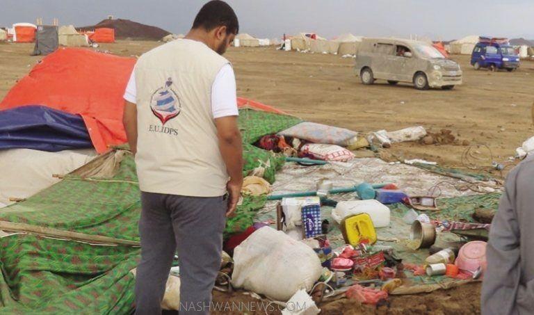 IDPs in yemen: 757 new families during September in marib
