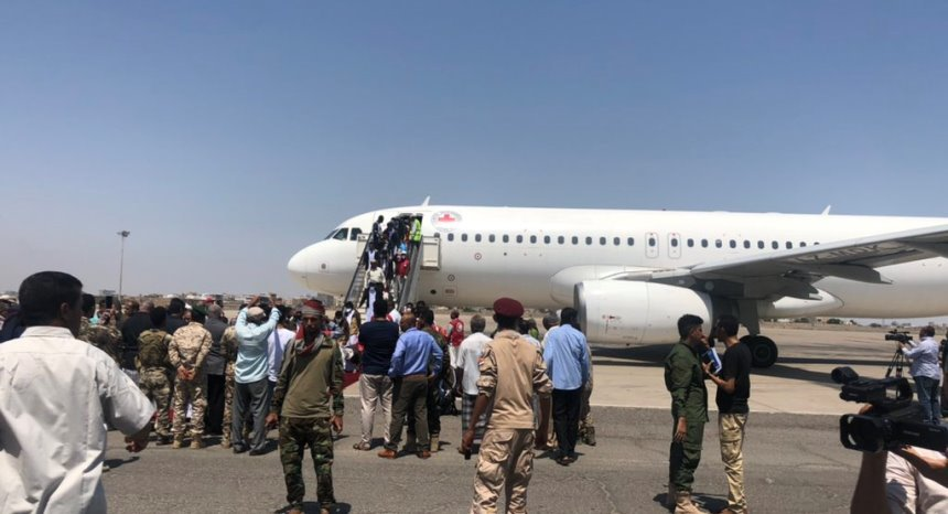 completion exchange prisoners and detainees via icrc in yemen
